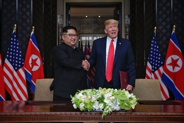 Nghe thuat dam phan cua nha lanh dao Trieu Tien Kim Jong-un hinh anh 1
