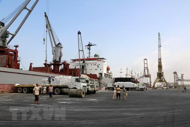 Houthi ra dau san sang chuyen giao cang Hodeidah cho LHQ hinh anh 1