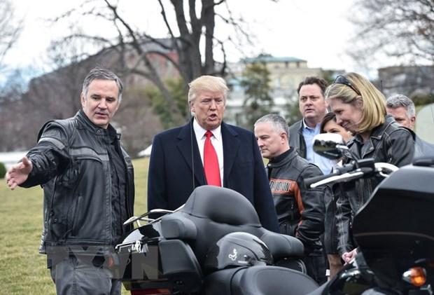 Tong thong My chi trich Harley-Davidson chuyen co so ra nuoc ngoai hinh anh 1