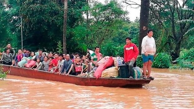 Lao phoi hop Han Quoc va Thai Lan dieu tra vu vo dap thuy dien hinh anh 1