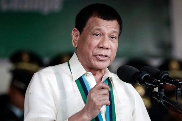 Chinh quyen Tong thong Duterte duy tri ty le hai long rat cao hinh anh 1