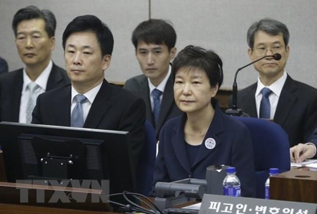 Han Quoc: Cuu Tong thong Pak Geun-hye bi gia han tam giam hinh anh 1
