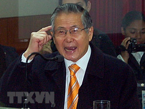 Toa an Peru huy lenh an xa voi cuu Tong thong Alberto Fujimori hinh anh 1