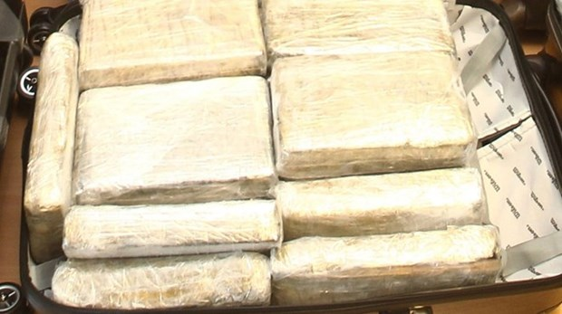 Iran thu giu hon 1 tan heroin o khu vuc bien gioi phia Tay Bac hinh anh 1