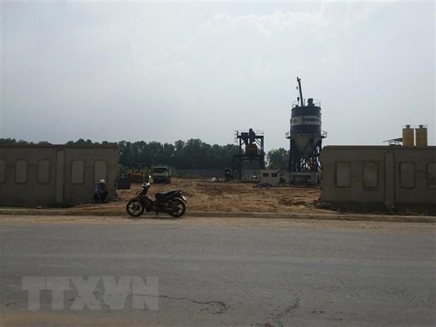 Ba Ria-Vung Tau: Nguoi dan khon kho vi song gan nha may betong hinh anh 1