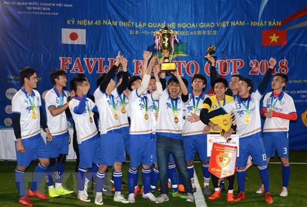Nhat Ban: FC Tokai vo dich Giai bong da Viet Nam tai khu vuc Kanto hinh anh 1