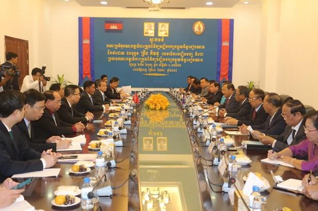Lanh dao Campuchia tiep Doan dai bieu Uy ban Kiem tra Trung uong hinh anh 1