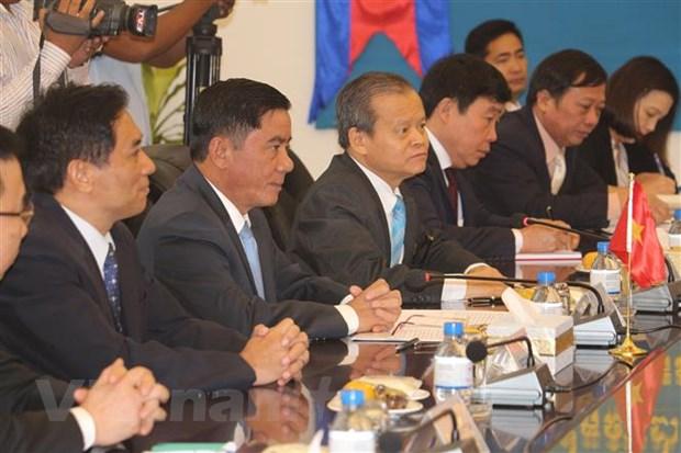 Lanh dao Campuchia tiep Doan dai bieu Uy ban Kiem tra Trung uong hinh anh 2