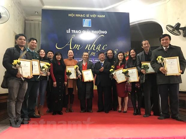 Giai Am nhac Hoi Nhac sy Viet Nam 2018: Nhieu hang muc khong giai A hinh anh 1