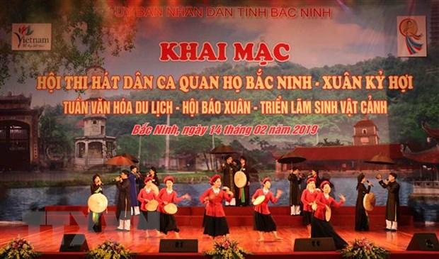 Soi noi cac hoat dong huong ung Festival 'Ve mien Quan ho 2019' hinh anh 1