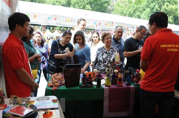 An tuong Viet Nam tai Festival Van hoa phuong Dong o Mexico hinh anh 1