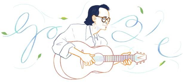 Nhac sy Trinh Cong Son duoc ton vinh tren Google Doodles hinh anh 1