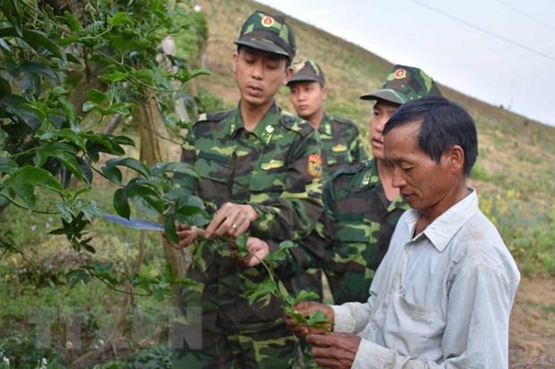Bo doi Bien phong chung tay dua vung bien Long Sap phat trien hinh anh 2