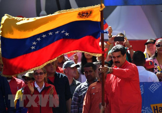 Tong thong Venezuela phan doi sac lenh trung phat cua My hinh anh 1
