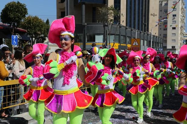 Tung bung le hoi truyen thong Carnival o Cong hoa Cyprus hinh anh 1