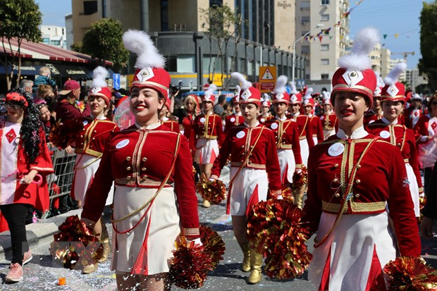 Tung bung le hoi truyen thong Carnival o Cong hoa Cyprus hinh anh 3