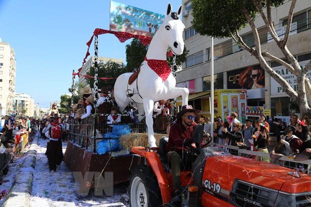 Tung bung le hoi truyen thong Carnival o Cong hoa Cyprus hinh anh 4