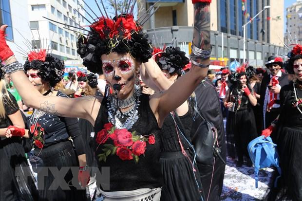 Tung bung le hoi truyen thong Carnival o Cong hoa Cyprus hinh anh 2