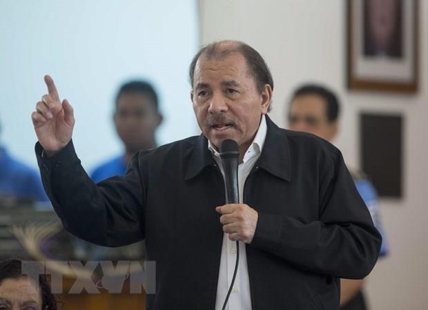 Chinh phu Nicaragua yeu cau phe doi lap tro lai ban dam phan hinh anh 1