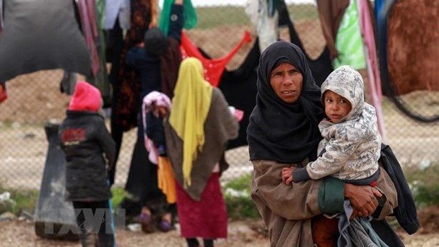 Hoi nghi ve tai tro cho Syria lan thu 3 dien ra tai Brussels hinh anh 1