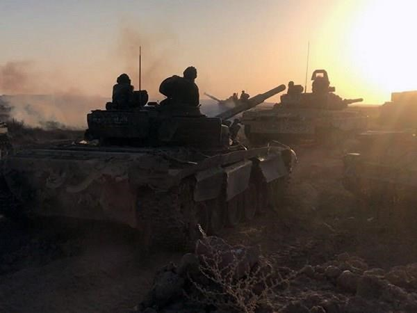 Syria tang cuong tan cong vao thanh tri cuoi cung cua phien quan hinh anh 1