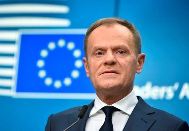 Hoi nghi thuong dinh EU tap trung ban ve van de Brexit hinh anh 1