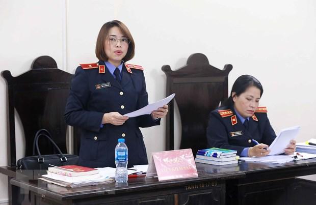 Vu Vietsovpetro: Nguyen Chanh ke toan VSP bi de nghi muc an 8-9 nam tu hinh anh 1