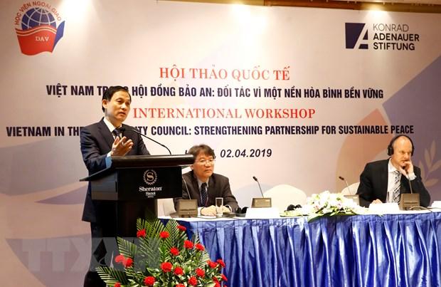 Viet Nam trong Hoi dong Bao an: Doi tac vi nen hoa binh ben vung hinh anh 1