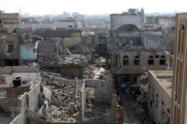 UAE ca ngoi viec Tong thong My phu quyet nghi quyet ve Yemen hinh anh 1