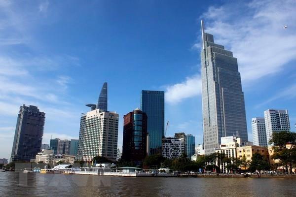 Doan tro ly nghi sy Hoa Ky tham va lam viec o Thanh pho Ho Chi Minh hinh anh 1