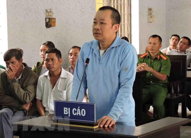 Phat tu chung than nguyen Thuong ta cong an lua dao chiem doat tai san hinh anh 1