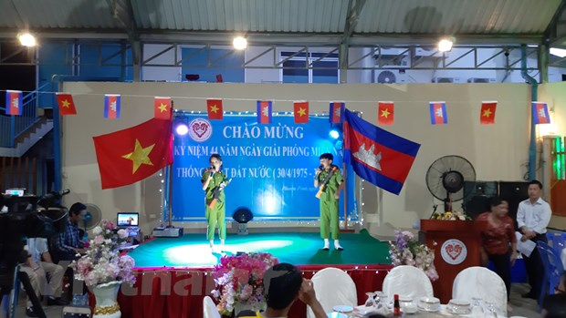 Hoi Khmer-Viet tai Campuchia to chuc le ky niem ngay 30/4 hinh anh 2