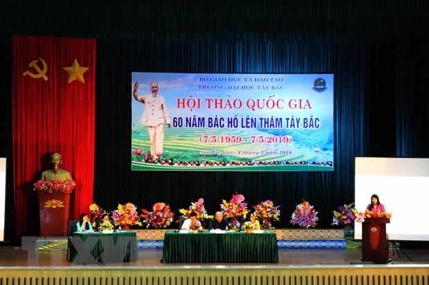 Hoi thao khoa hoc quoc gia '60 nam Bac Ho len tham Tay Bac' hinh anh 1