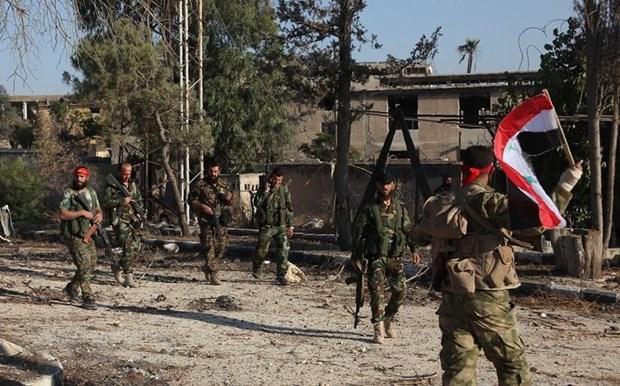 Chinh phu Syria thuc hien ngung ban tai khu vuc giam cang thang Idlib hinh anh 1