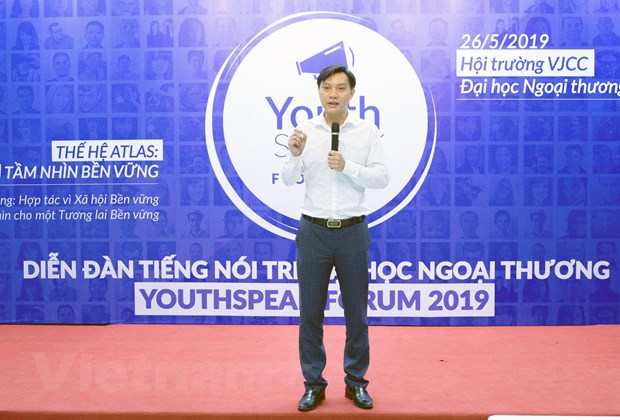 Amway Viet Nam dong hanh cung Dien dan Tieng noi tre Youthspeak 2019 hinh anh 1