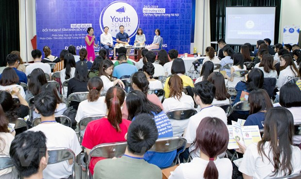 Amway Viet Nam dong hanh cung Dien dan Tieng noi tre Youthspeak 2019 hinh anh 2