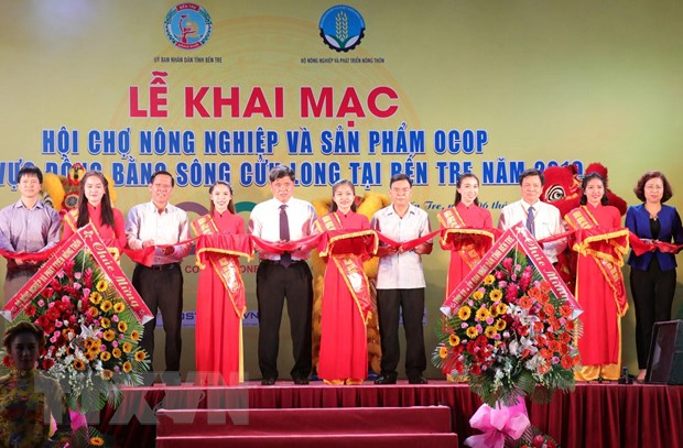 Khai mac hoi cho Nong nghiep va san pham OCOP khu vuc DBSCL hinh anh 2