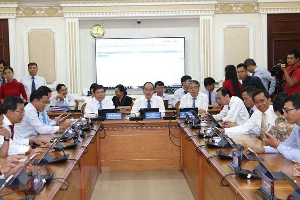 Thanh pho Ho Chi Minh trien khai mo hinh Phong hop khong giay hinh anh 2