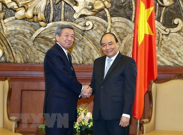 Thu tuong tra loi phong van bao chi ve chuyen tham Nhat Ban hinh anh 2