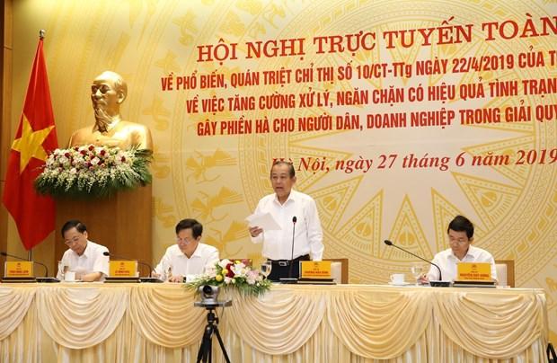 "Pho Thu tuong: ""Tham nhung vat"" lam xoi mon niem tin cua nguoi dan hinh anh 1"