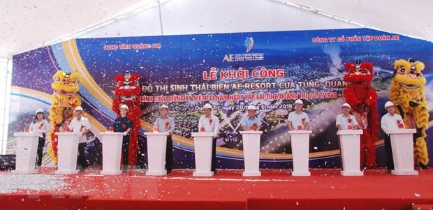 1.700 ty dong xay khu do thi sinh thai bien AE resort Cua Tung hinh anh 1