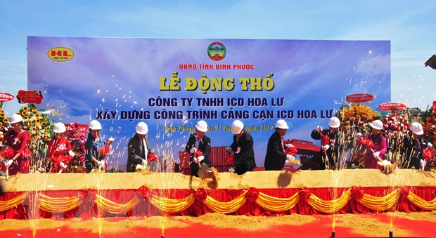 Binh Phuoc: Xay cang can ICD Hoa Lu cong suat 900.000 container hinh anh 1