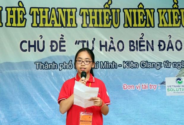 Khai mac Trai he thanh thieu nien kieu bao TP.HCM nam 2019 hinh anh 2