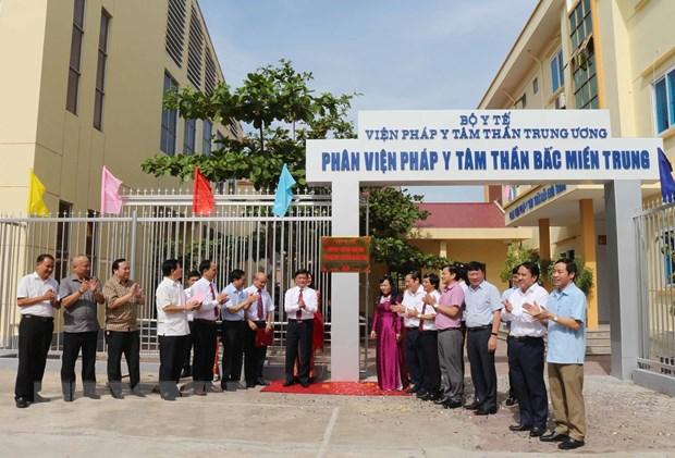 Thanh lap Phan vien Phap y tam than Bac Trung Bo tai Nghe An hinh anh 1