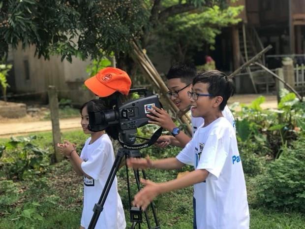 35 tac pham du cuoc thi lam phim cho hoc sinh pho thong Ha Noi 2019 hinh anh 1