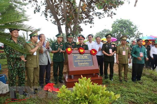 Chuong trinh giao luu huu nghi bien gioi Viet Nam-Lao nam 2019 hinh anh 2
