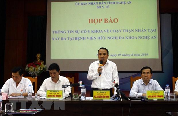 Su co chay than nhan tao o Nghe An: He thong dan nuoc khong dam bao hinh anh 1