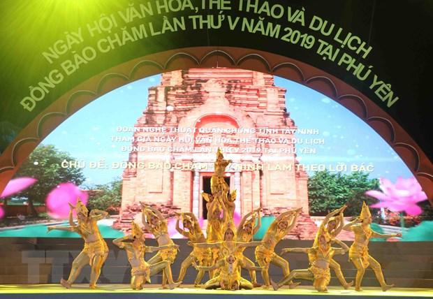 Ngay hoi Van hoa, The thao va Du lich dong bao Cham tai Phu Yen hinh anh 1