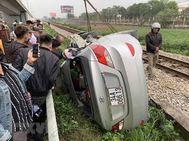 Quang Ngai: Lien tiep xay ra tai nan duong sat lam 1 nguoi chet hinh anh 1