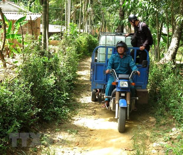 Nang nong keo dai tai Quang Ngai, nhieu ho dan 'khat' nuoc sach hinh anh 1